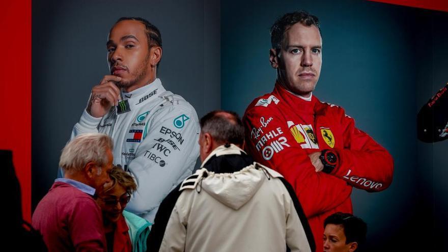 Con Alonso en la barrera