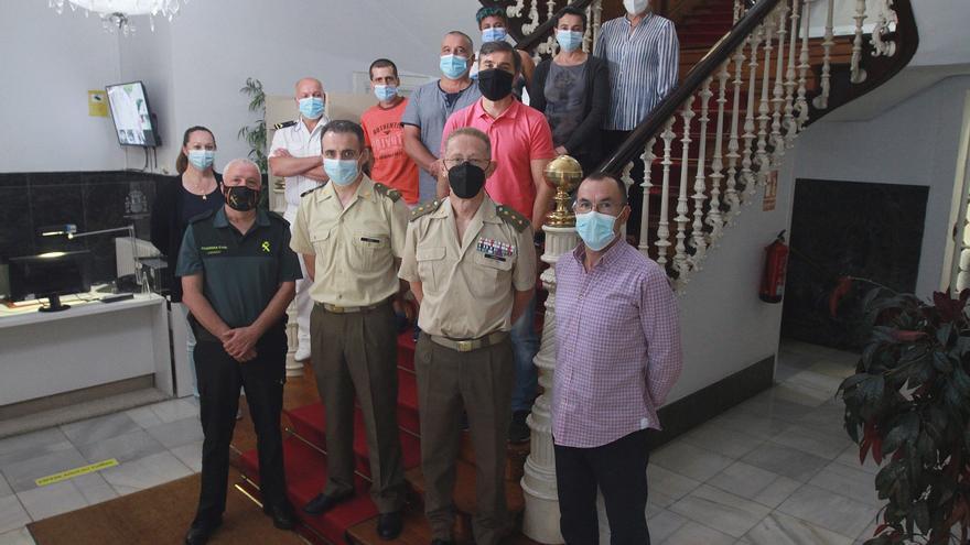 La casa de Defensa en Ourense: 10.000 consultas al año en un edificio con historia