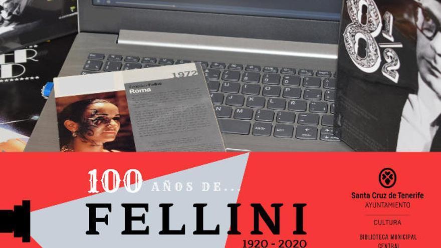 La Biblioteca Municipal de Santa Cruz rinde homenaje a Fellini