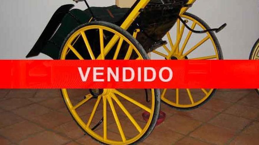 Autorizan la venta de un carruaje de Juan Antonio Roca