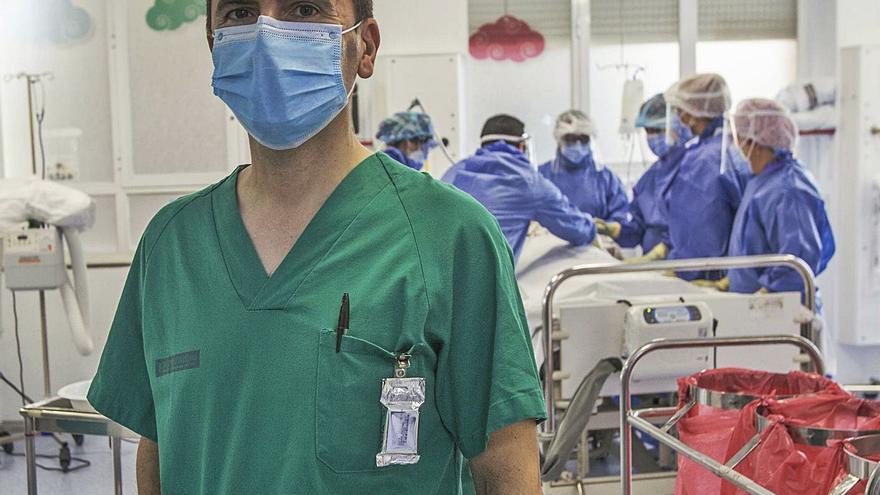 Luis Gómez: «Haber pasado el covid te hace ser más empático con el paciente, les animo con mi experiencia»