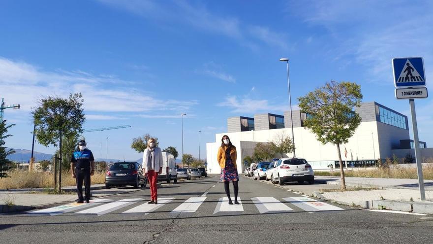 ¿Te imaginas un paso peatonal 3D en Zamora?