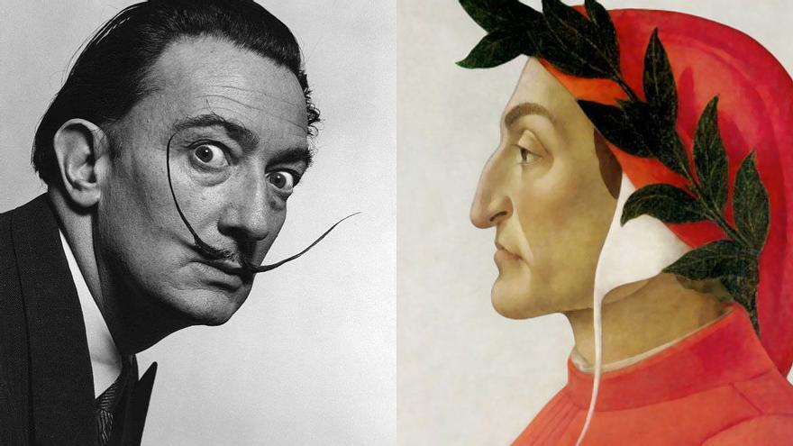 Dalí bajó al infierno de Dante y fue acusado de pornógrafo