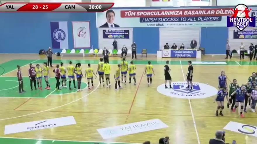 El Rocasa Gran Canaria cae eliminado ante el líder de la liga turca