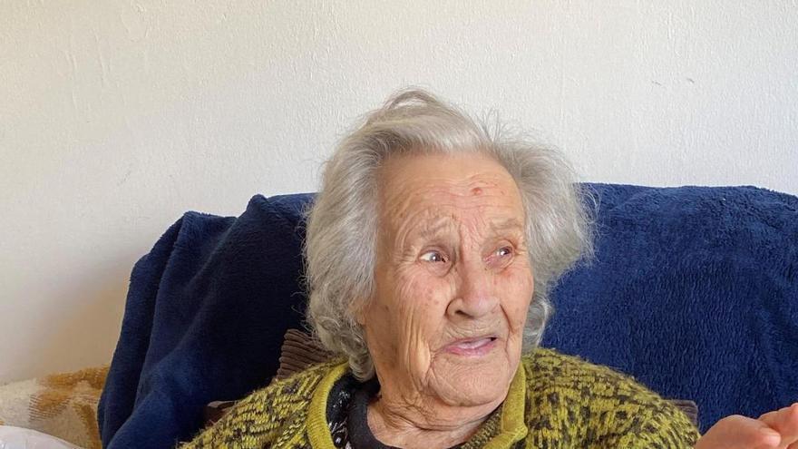 Fallece la abuela de Valleseco, a los 104 años