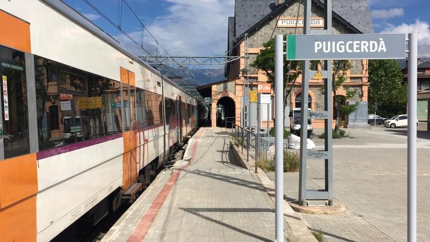 Les obres al túnel de Toses tallaran set mesos i mig el pas de trens entre Puigcerdà i Ribes de Freser