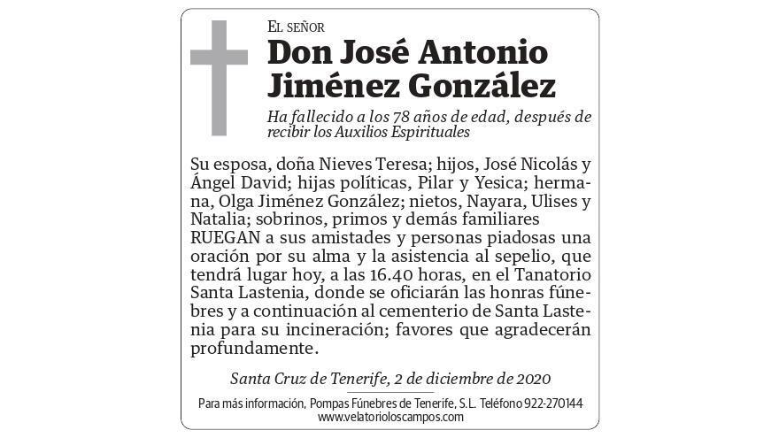 José Antonio Jiménez González