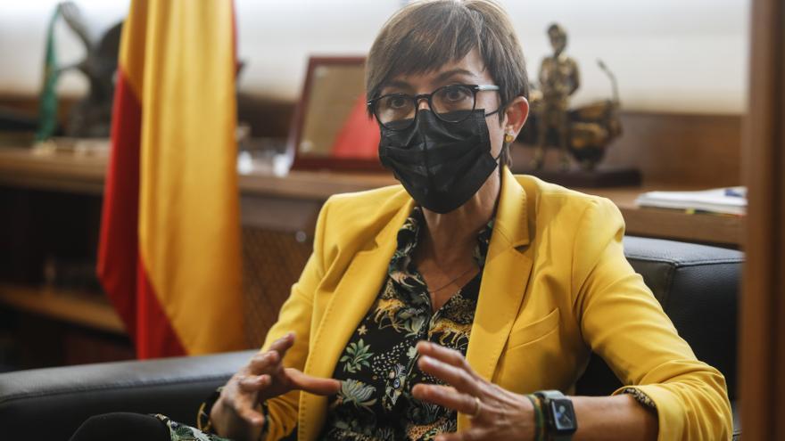"""María Gámez, directora general de la Guardia Civil: """"Esta es una democracia plena, aunque hay que reivindicarla todos los días"""""""