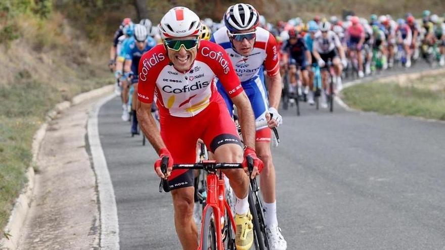 Luis Ángel Maté acaba la Vuelta en 23ª posición