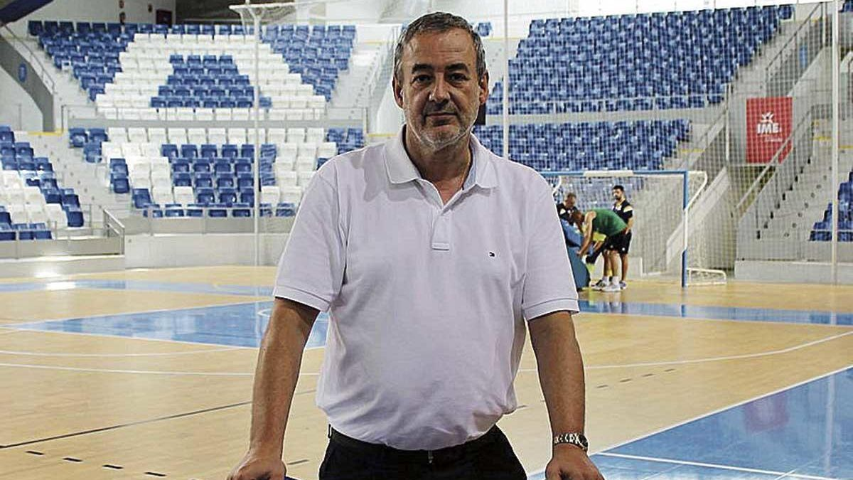 El presidente del Palmer Palma, Guillem Boscana.