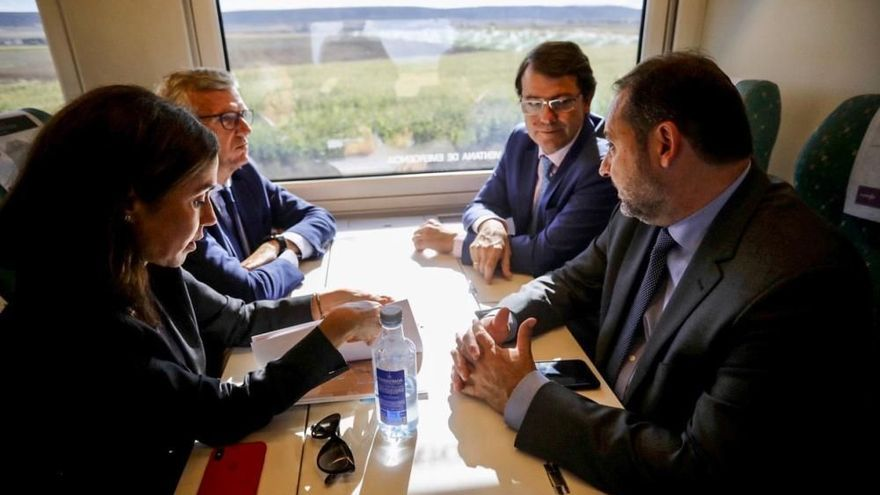 """Ábalos anuncia en Zamora un """"impulso del Corredor Atlántico con el mismo peso presupuestario que el Mediterráneo"""""""