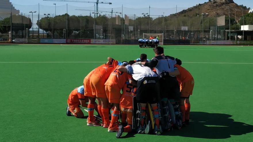 Primera victoria del Hockey Benalmádena ante el Egara