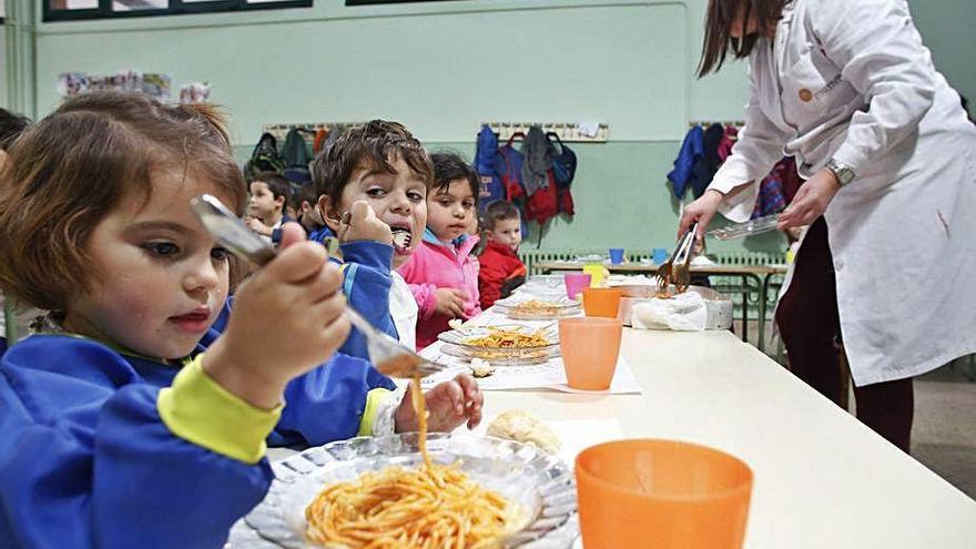 Cerca de 300 alumnos realizarán un uso diario de los comedores escolares