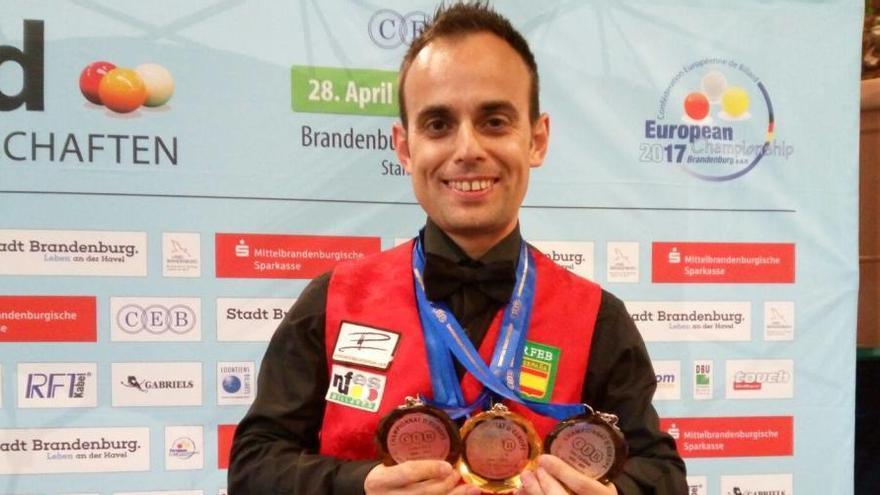 El valenciano Raúl Cuenca se proclama campeón de Europa