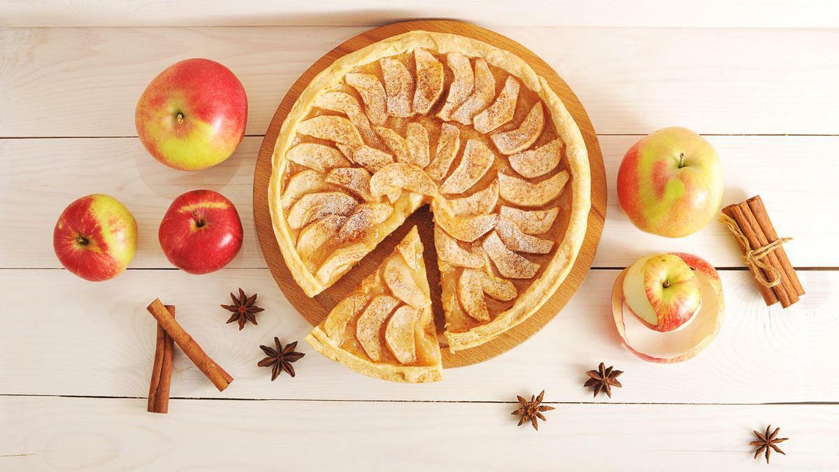 Cómo hacer una tarta de manzana.