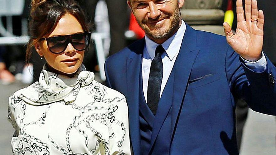 David y Victoria Beckham se separan por el trabajo