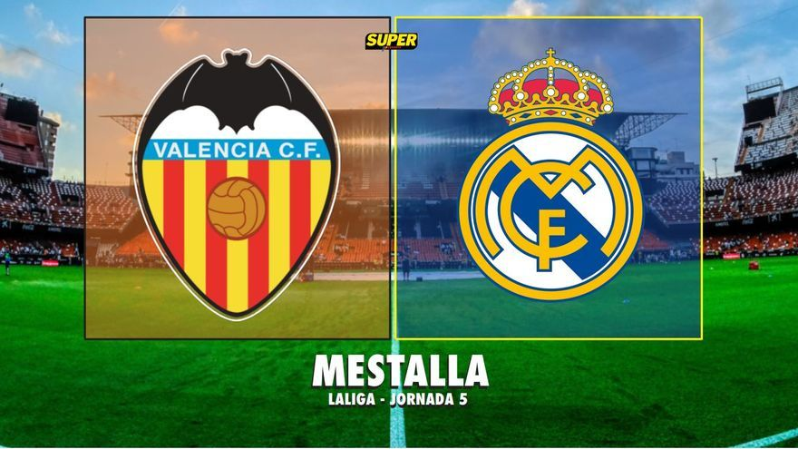 Valencia CF-Real Madrid: Última hora del partido