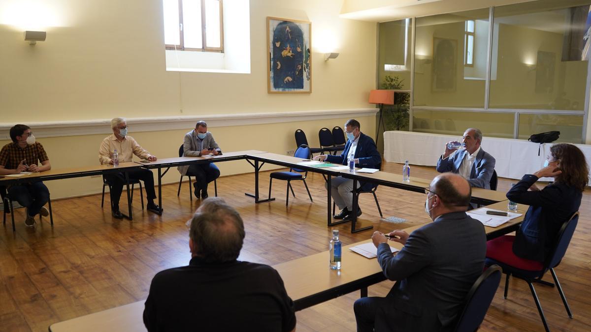 Consejo general de Zamora10, este lunes.