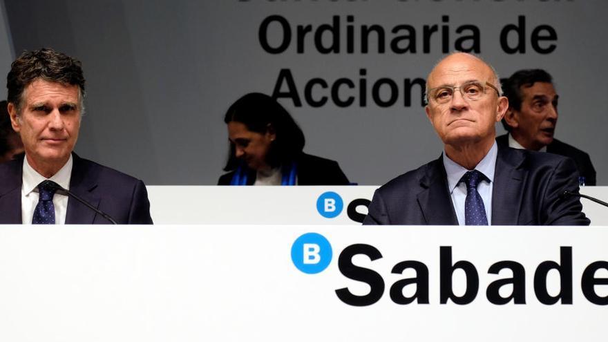 El Sabadell recorta un 72,7% su beneficio tras dotar 1.089 millones por el covid-19