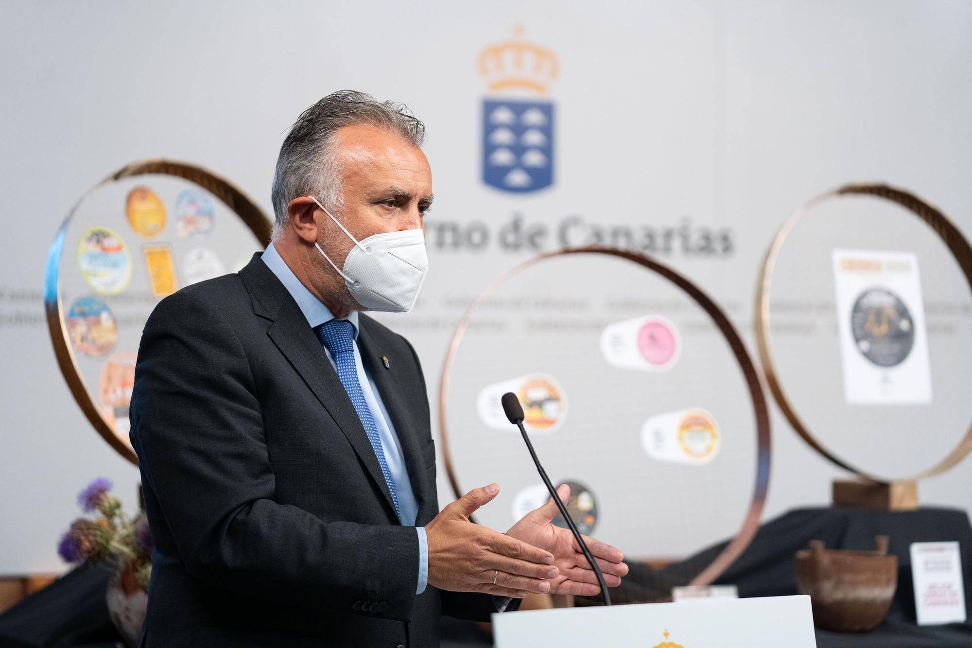 """Queso La Gloria de José Miguel Ortega Suárez  reconocido como """"Mejor Queso de Canarias 2021"""""""