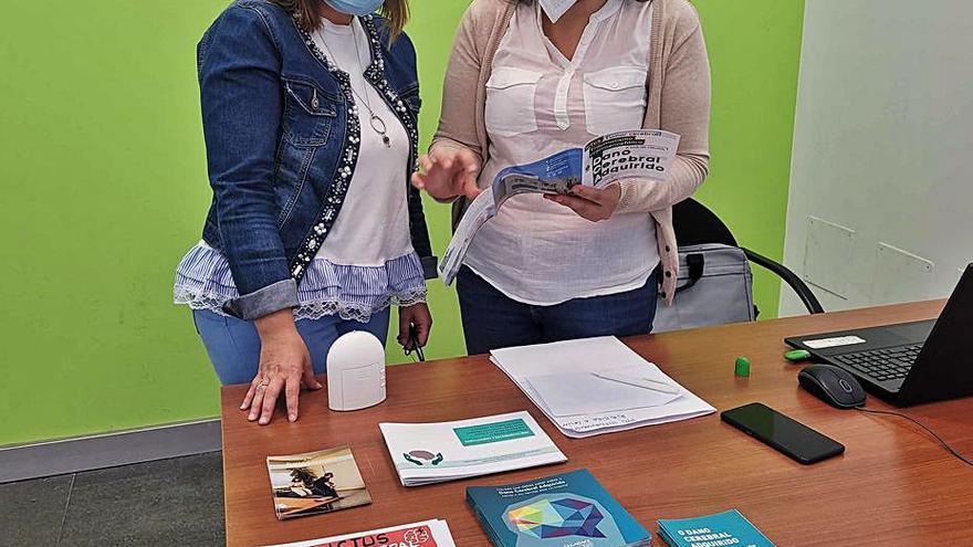 Lalín asesora a personas con daño cerebral en virtud del convenio con Sarela