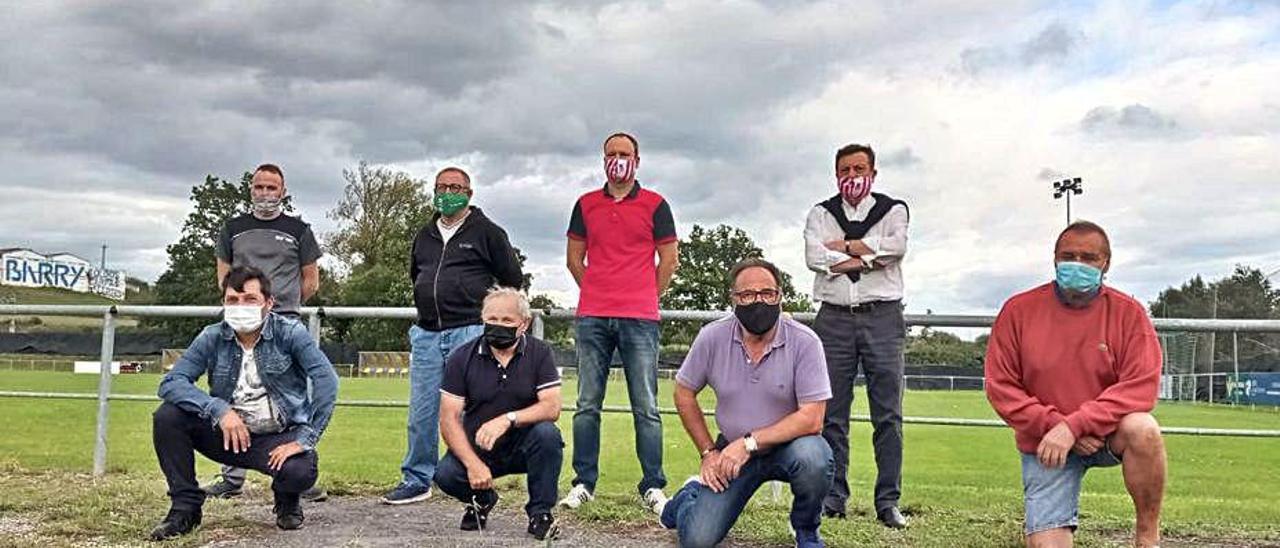 Los clubes sin luz en los campos de fútbol de Siero, dispuestos a manifestarse