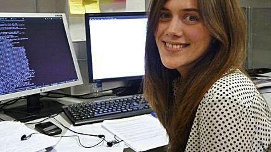 La ingeniera informática Sabela Ramos, doctora por la UDC, premio Ada Byron