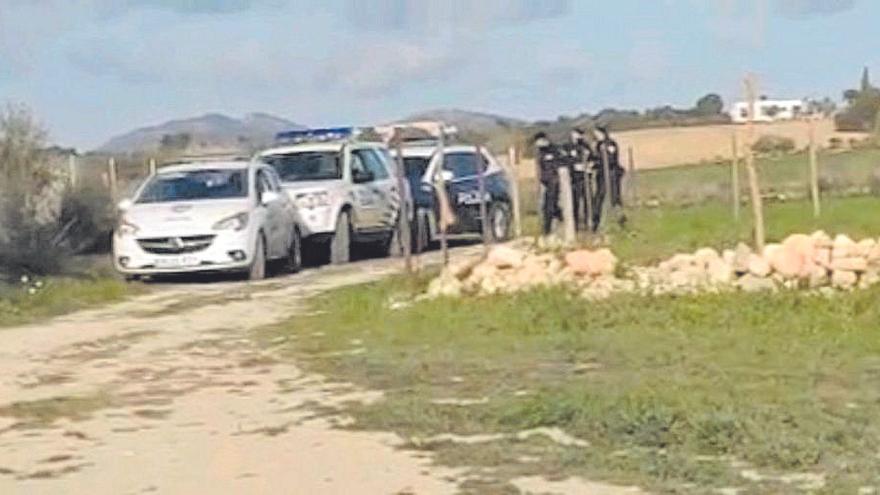 La Policía desaloja una fiesta con 40 personas en el Camí de Son Pobre