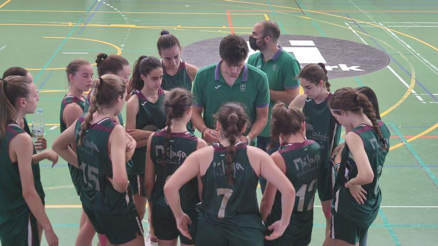 El Unicaja femenino se mete en cuartos de final del Campeonato de España infantil
