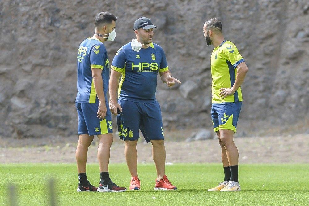 Entrenamiento de la UD Las Palmas