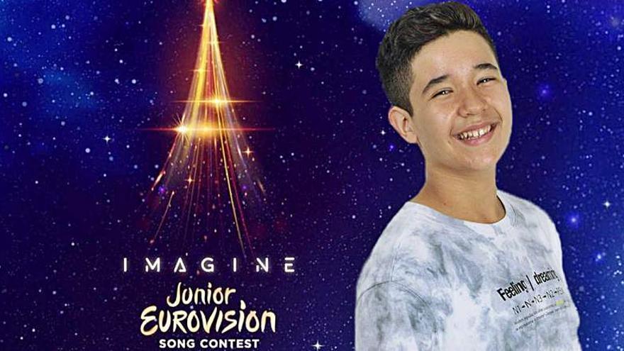 Levi Díaz, de ganar 'La Voz Kids' al Festival de Eurovisión Junior