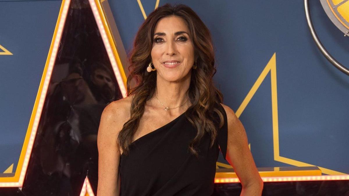 Paz Padilla, presentadora de televisión.