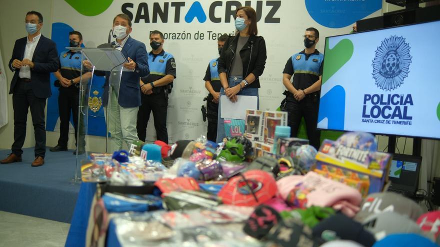 Miles de productos falsificados y sin garantías sanitarias, en Santa Cruz