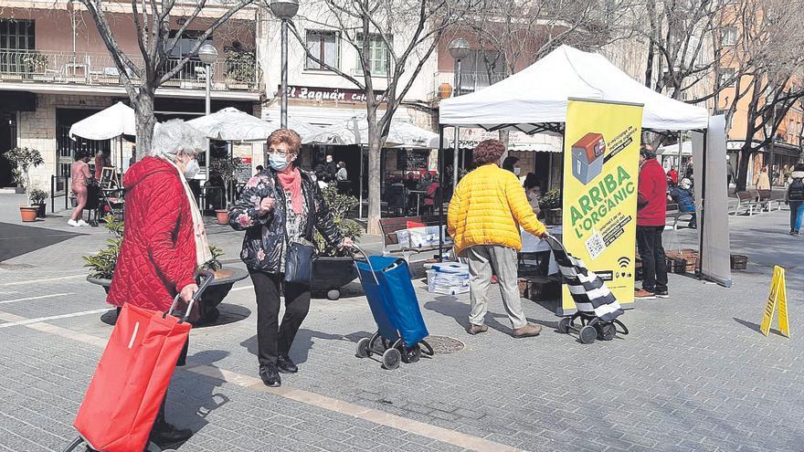 Emaya implanta la recogida de materia orgánica en 32 barrios más en abril y mayo