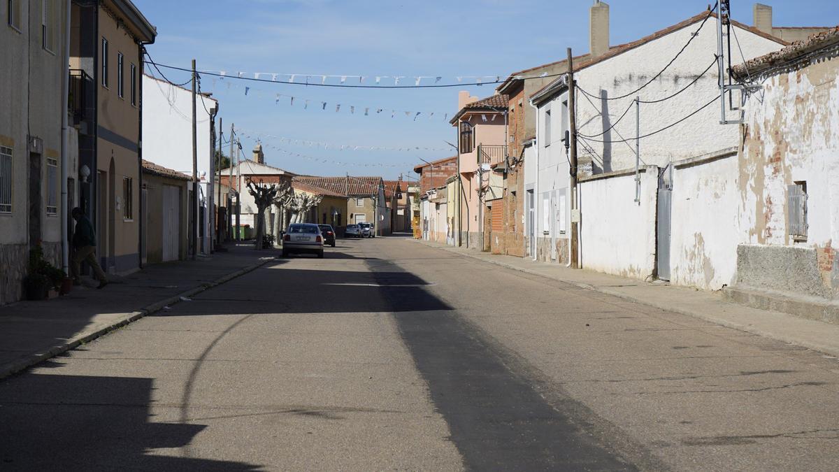 Vista de un pueblo de la provincia