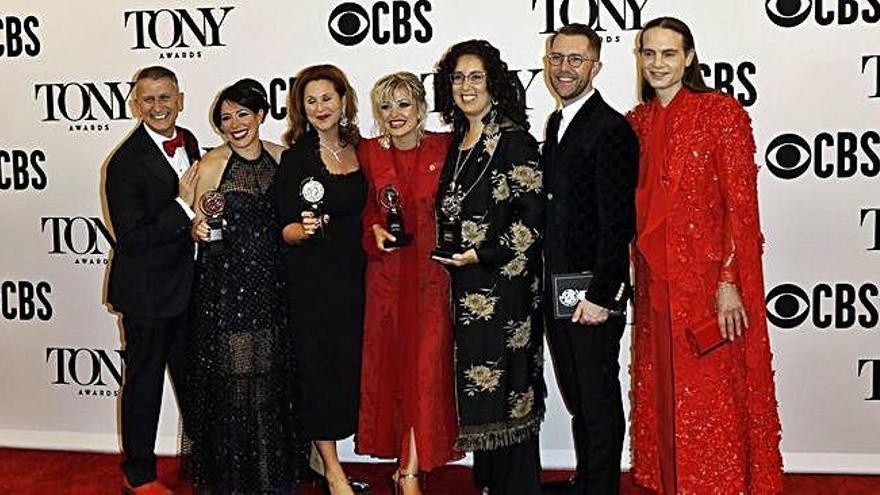'Hadestown' triunfa en los premios Tony