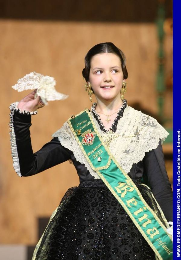 Galania reina infantil de la Magdalena