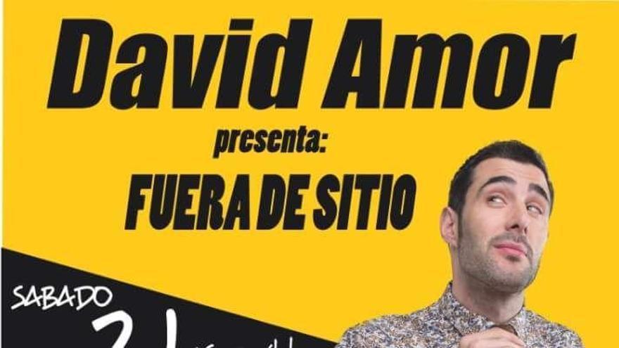 Monólogo de David Amor este sábado en Teixeiro