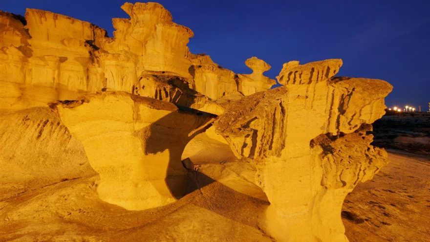 Las Gredas de Bolnuevo ya son 'Monumento Natural'