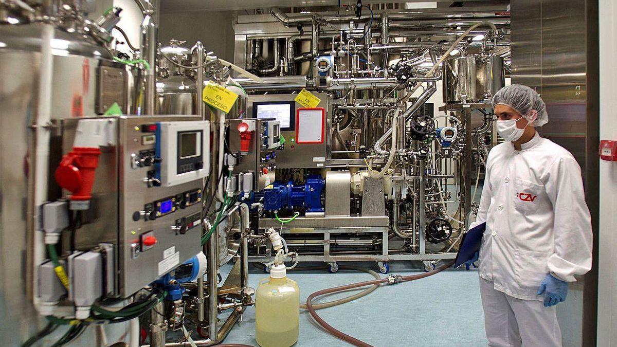 Planta de producción de Biofabri.