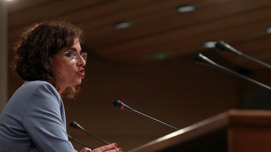 Hacienda recomienda a las comunidades una meta de déficit del 2,2% para 2021
