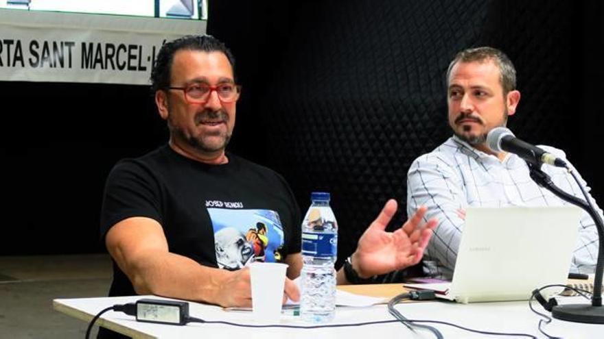 Javier Parra divulga la faceta de muralista de Renau