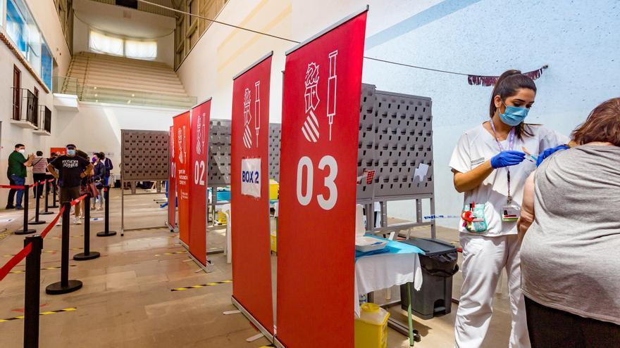 La Generalitat prevé alcanzar los tres millones de vacunas administradas esta próxima semana
