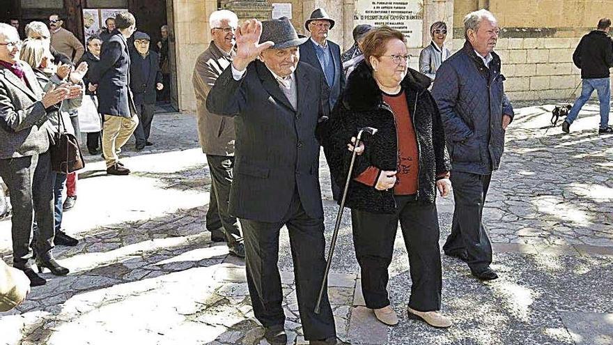 El 'porrerenc' Guillem Grimalt cumple 100 años