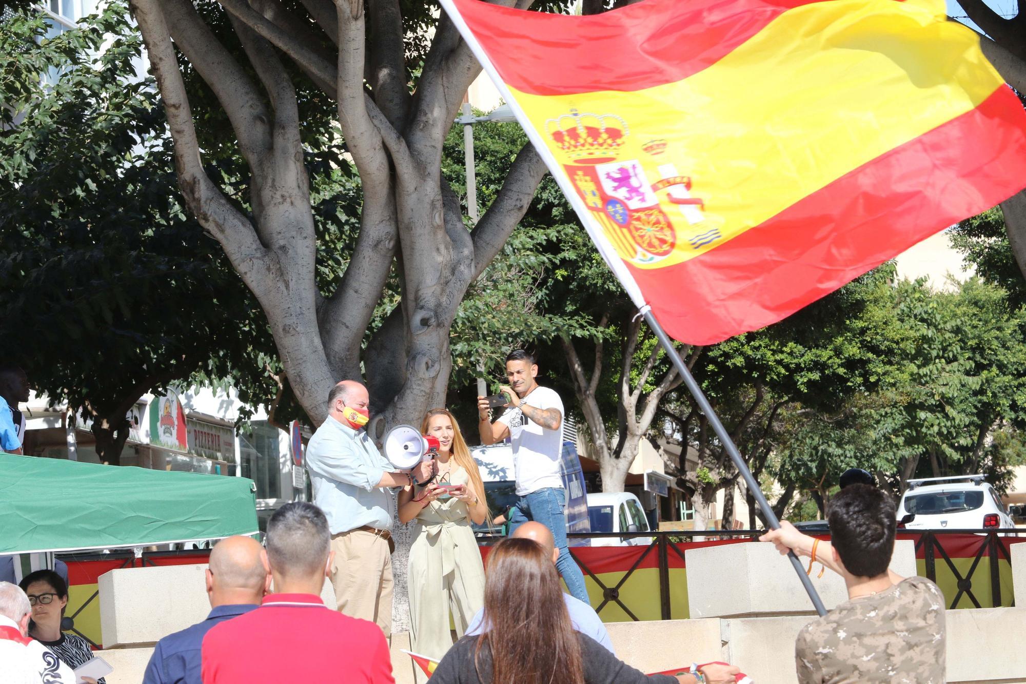 Vox celebra en Ibiza el 'Día de la Fiesta Nacional'