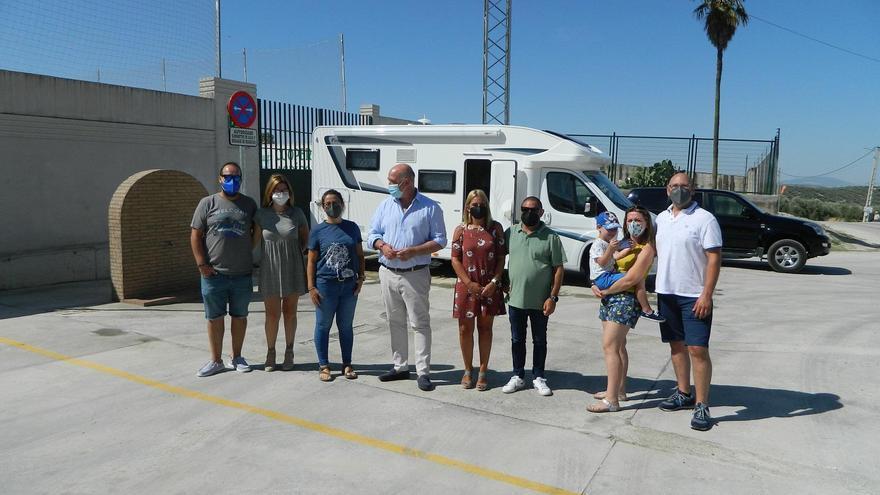 El Ayuntamiento de Rute reubica y amplía el área de autocaravanas