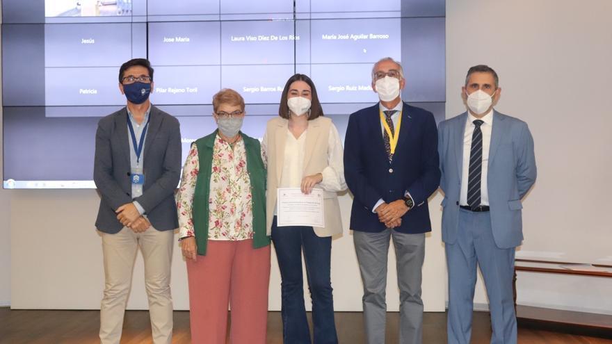 El Colegio de Enfermería de Córdoba entrega el primer premio al Mejor Trabajo Fin de Grado