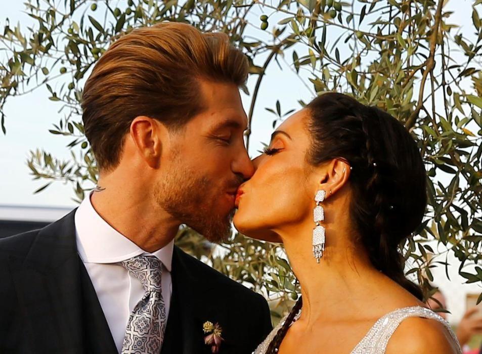 Casament de Sergio Ramos i Pilar Rubio