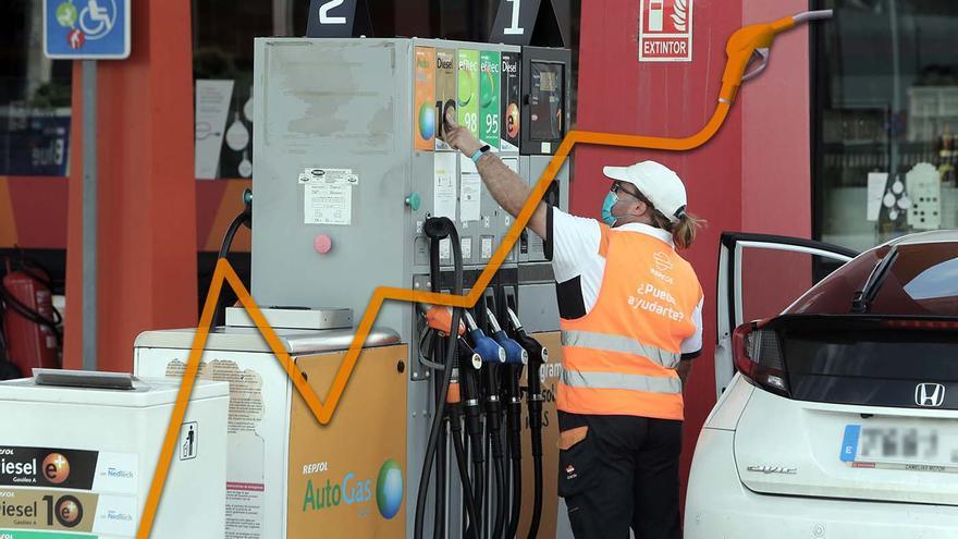 El otro tarifazo energético: Vigo se aúpa como la segunda ciudad española con el diésel más caro