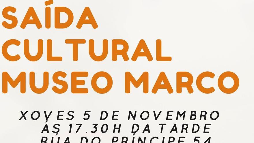 Saída Cultural Museo Marco